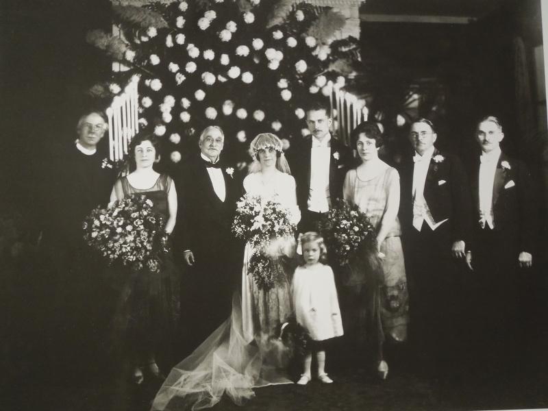 The 1924 Sabin-Underwood Wedding Party