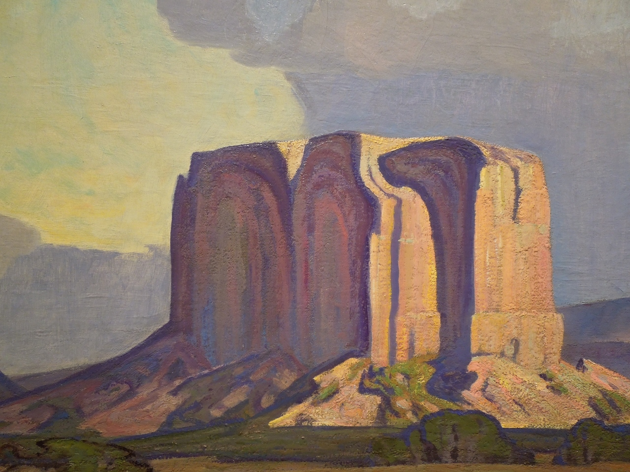 Detail of Enchanted Mesa