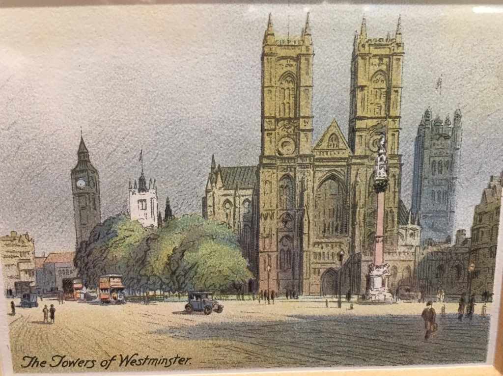 """From the 1931 series """"Picturesque London"""""""